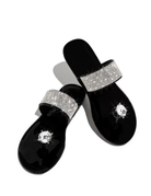 Such A Stud Sandals Black