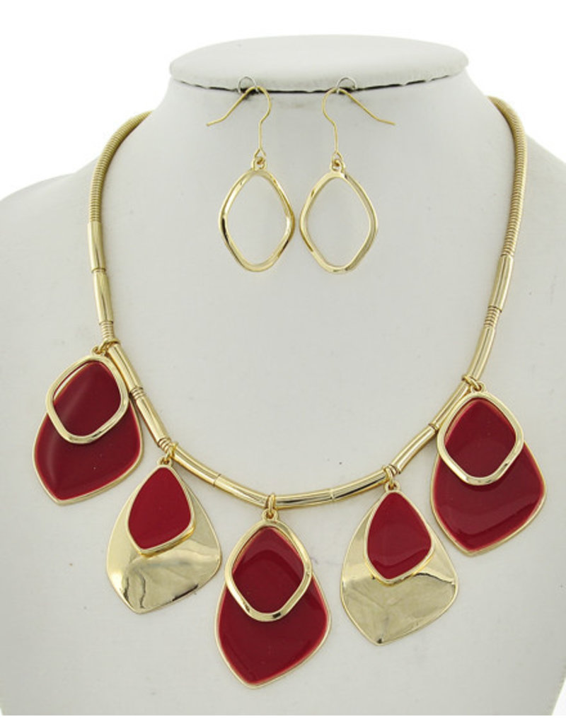 Vacay For Days Necklace Set