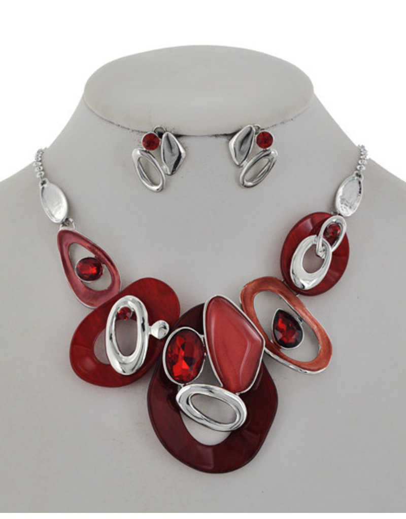 Rock Of Ages Necklace Set