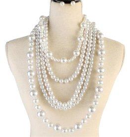 Precious Pearl Necklace Set