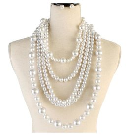 Precious Pearl Necklace Set
