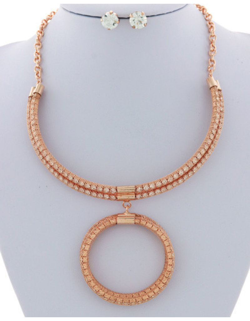 Inner Circle Necklace Set