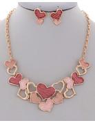 Love Lockdown Necklace Set