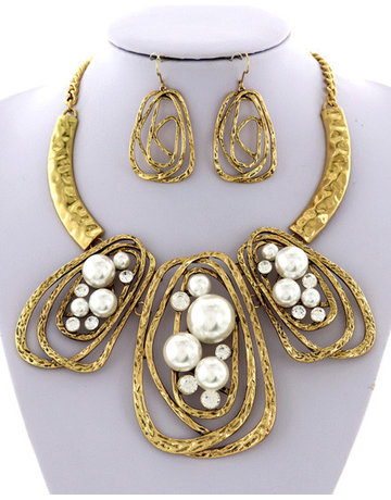 Pearl Power Necklace Set