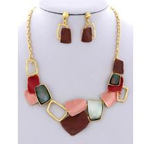 Broken Pieces Necklace Set
