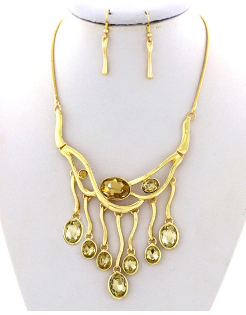 Follow The Sun Necklace Set
