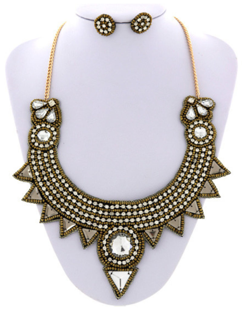 Head Of The Tribe Necklace Set