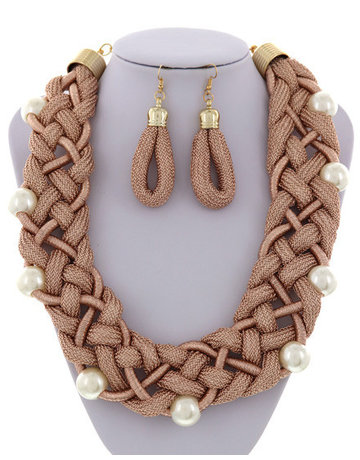 Endless Braids Necklace Set