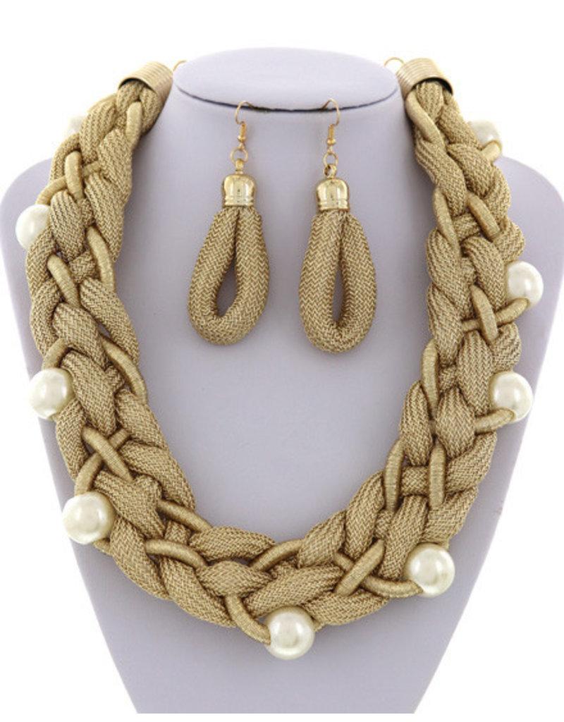 Endless Braids Necklace Set