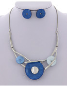 See Saw Necklace Set