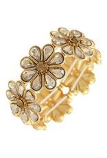 Power To The Flower Bracelet