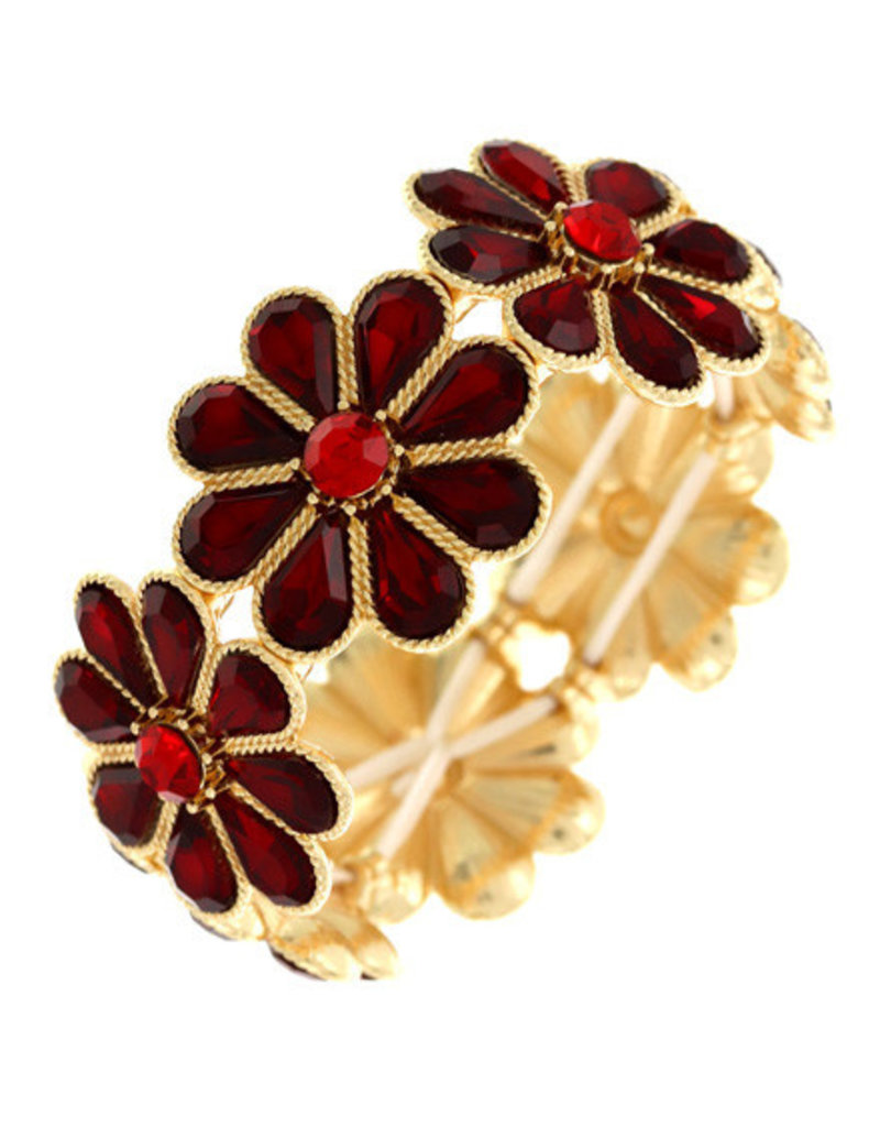 Power To The Flower Bracelet
