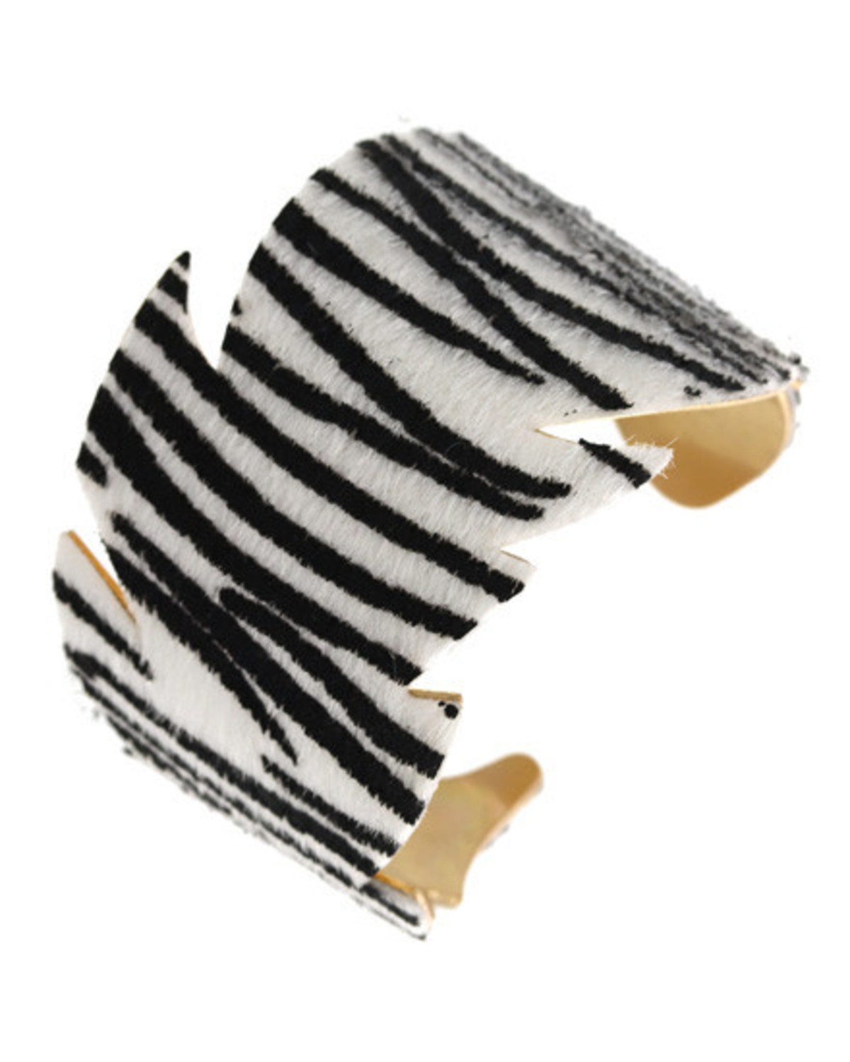 Zebra Stripes Cuff