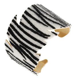 Zebra Stripes Cuff