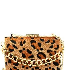 Cutie Patootie Leopard Clutch