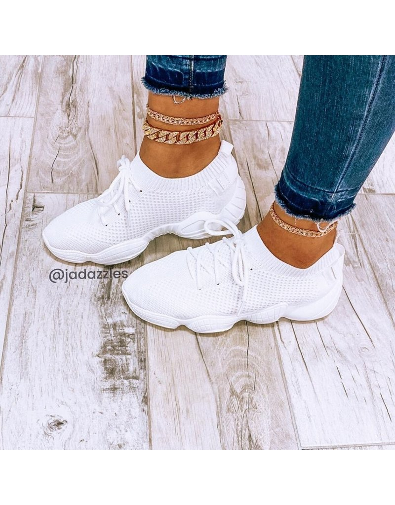 Kick It Sneakers White