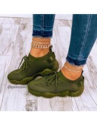 Kick It Sneakers Olive