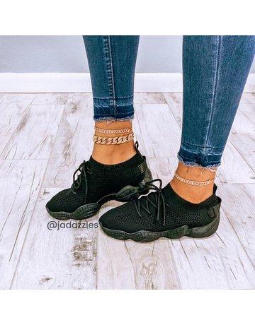 Kick It Sneakers Black