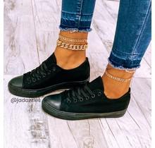 Fresh Start Sneakers Black