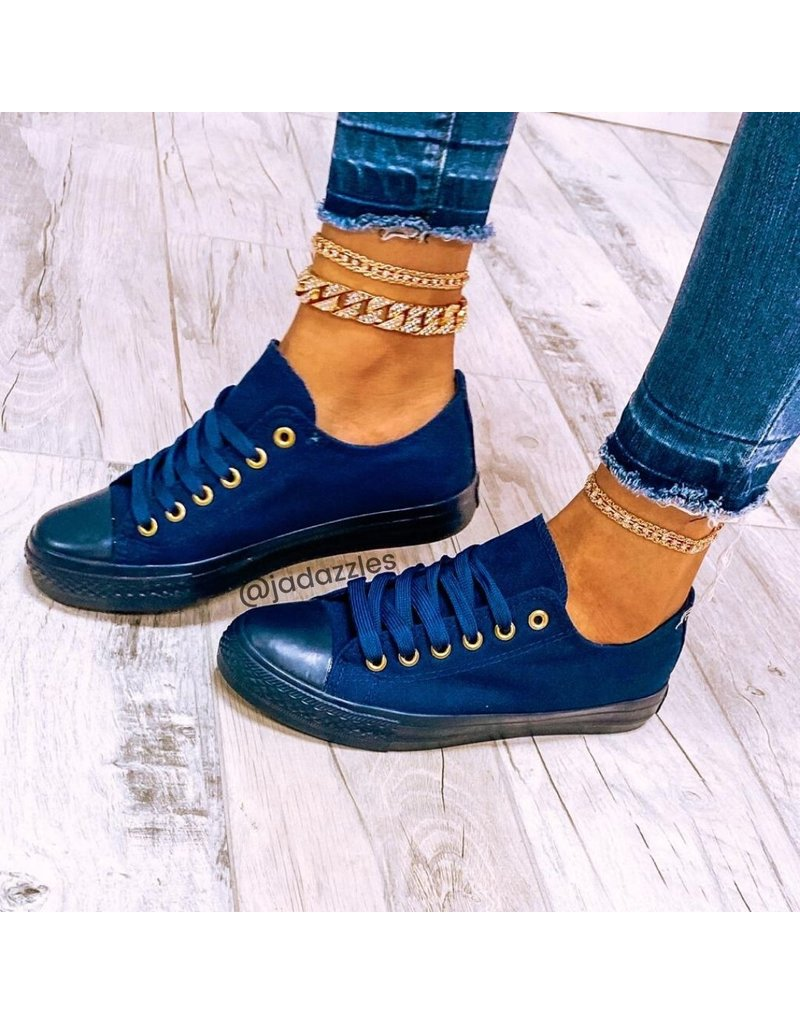 Fresh Start Sneakers Navy