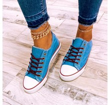 On The Run Sneakers Blue
