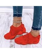 Kick It Sneakers Red
