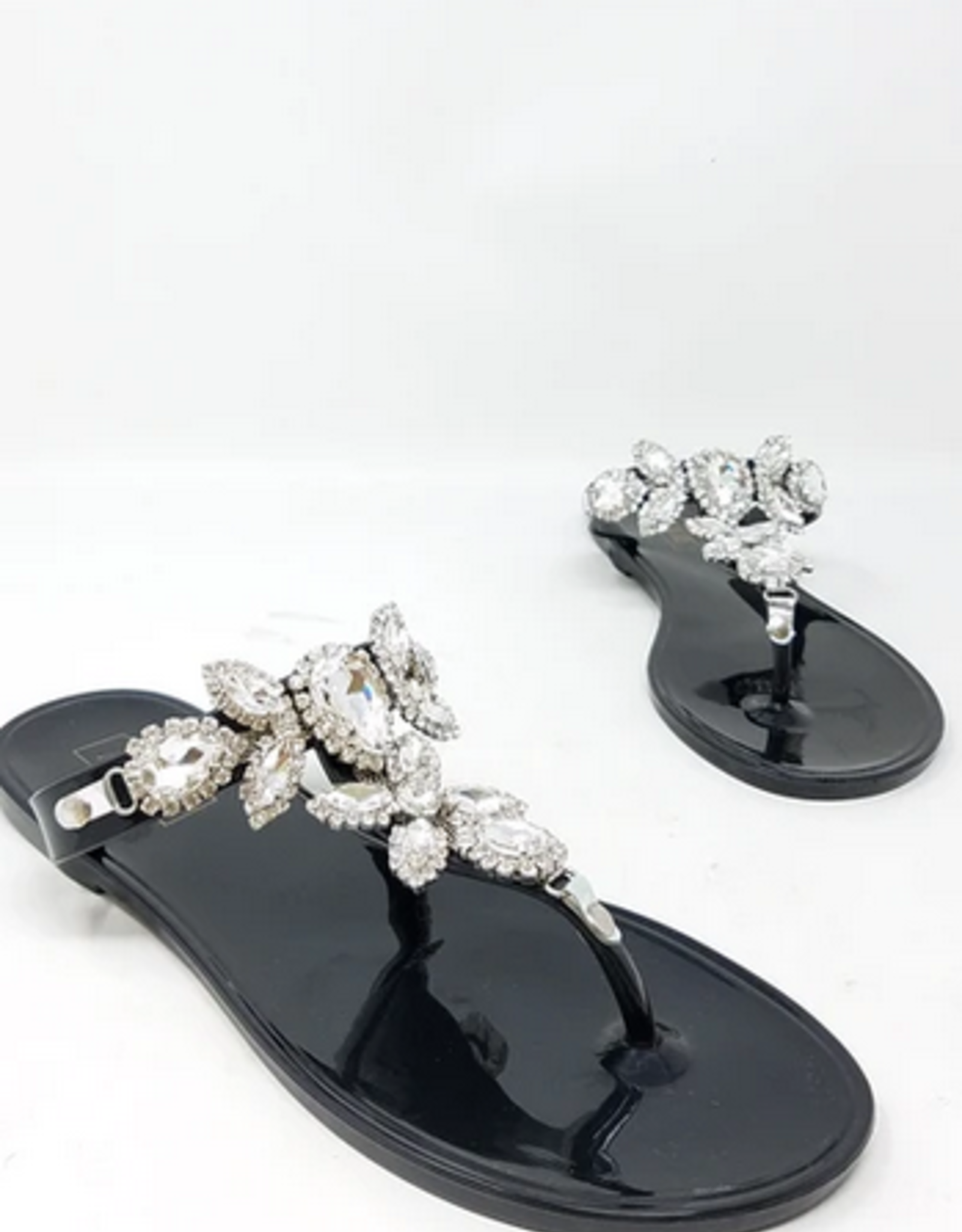 Got The Bling Sandals Black