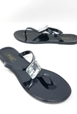 Boss Up Sandals Black