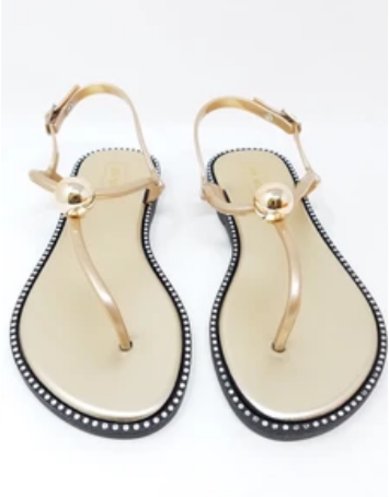 So Chic Sandals Gold