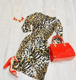 Run Wild Leopard Dress