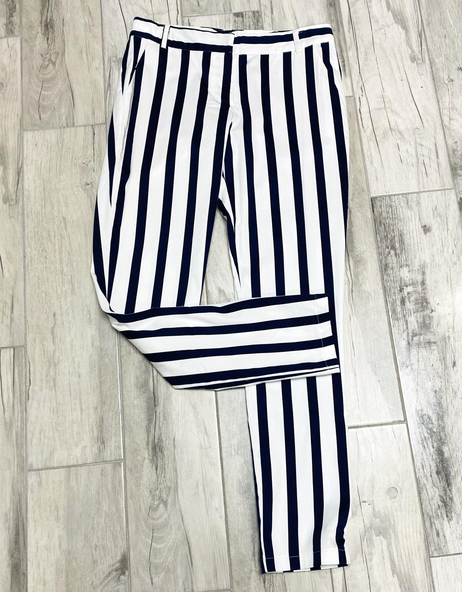 Spaced Out Striped Pants