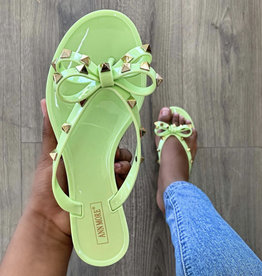 Sweetie Sandals Pistachio