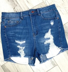 Too Hot To Handle Ripped Shorts
