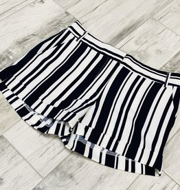 Striped Over Shorts