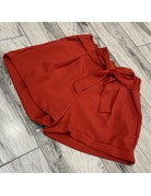 Tied Together Shorts Red