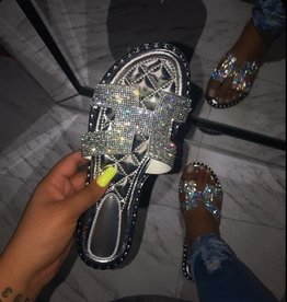 Let It Shine Sandals Silver