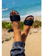 Glam Ego Sandals - Black