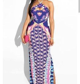 Making My Way Aztec Maxi Dress