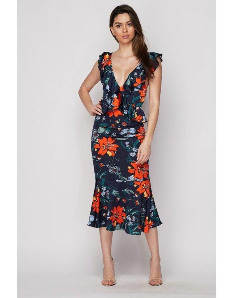 Make You Mine Floral Dress
