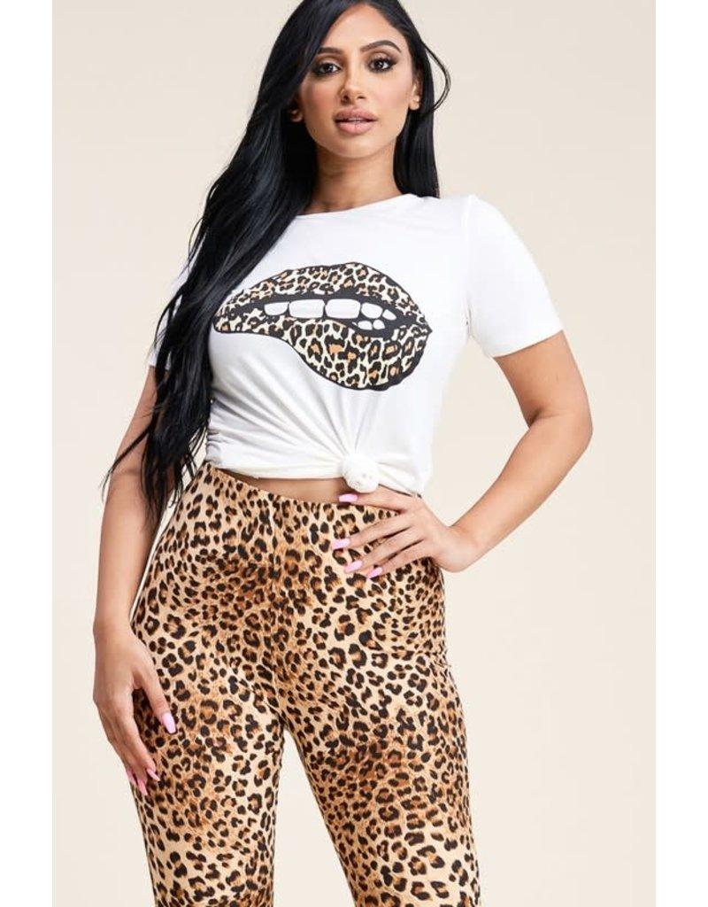 Kiss Of Danger Leopard Set