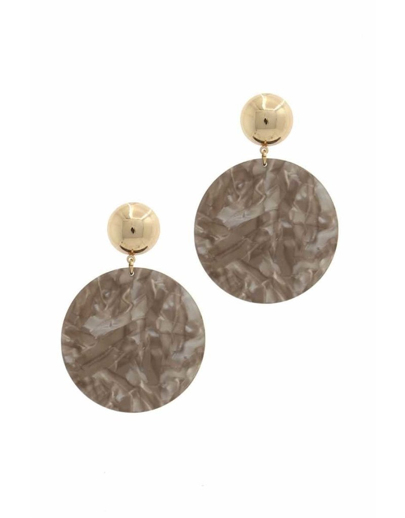 Rare Marble Earrings