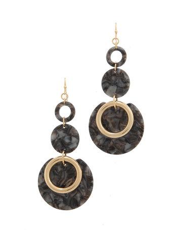 Marbled Marvel Earrings