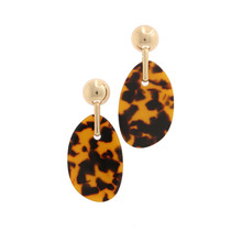 Good Behavior Leopard Earrings