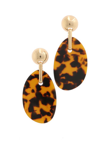Good Behavior Leopard Earrings