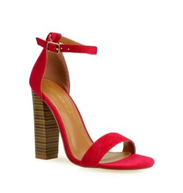 Block It Out Heels Red