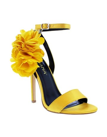Blooming Season Heels Yellow
