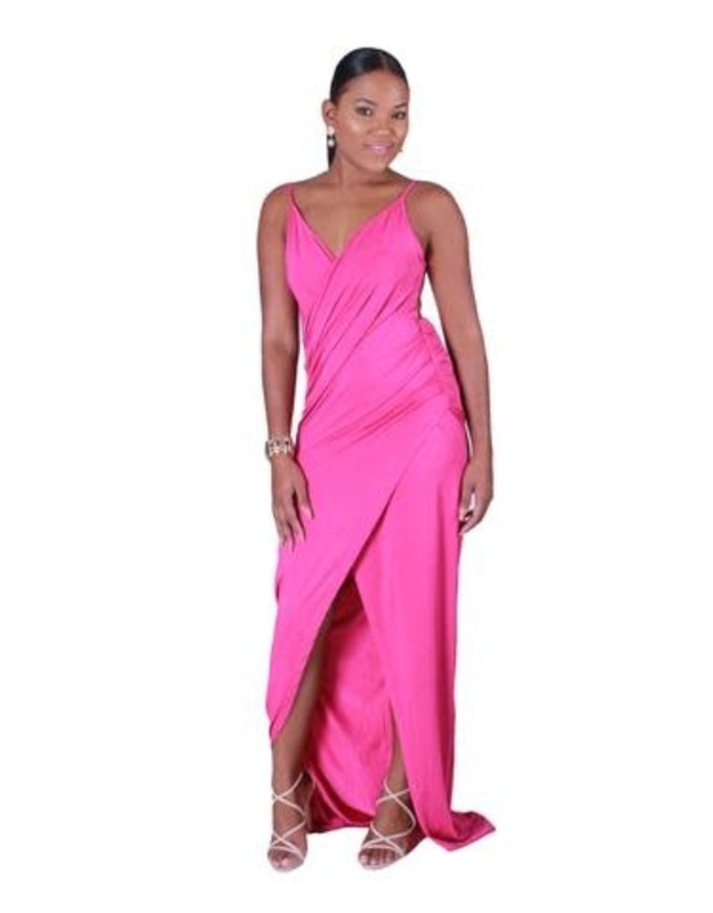 Barely There Dress - Magenta
