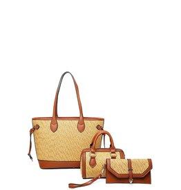 Adventure Time 3PC Bag Set - Brown
