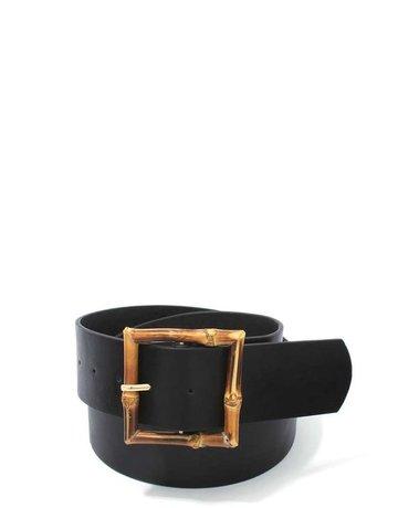 Bamboo Thang Belt - Black