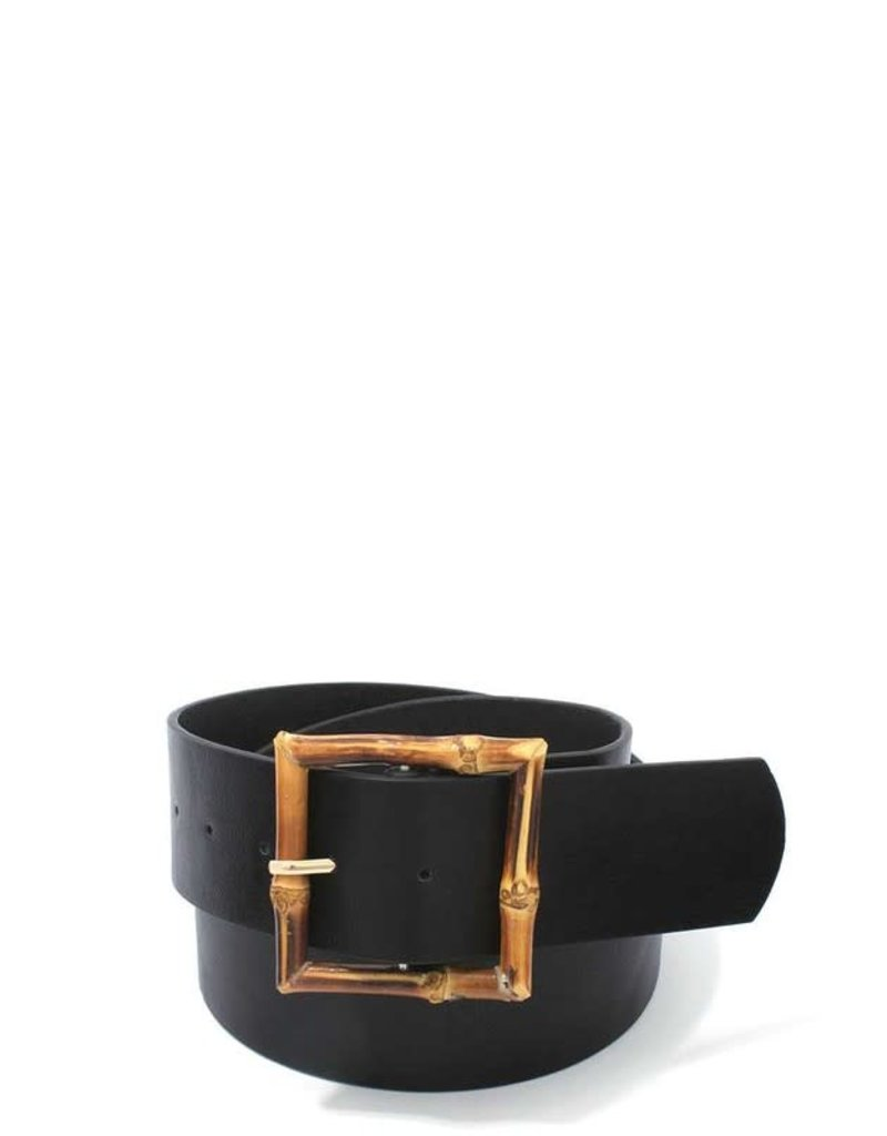 Bamboo Thang Belt - Black